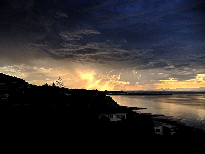 Travel Photo Roulette Storm Over Nelson Everyday Nomad