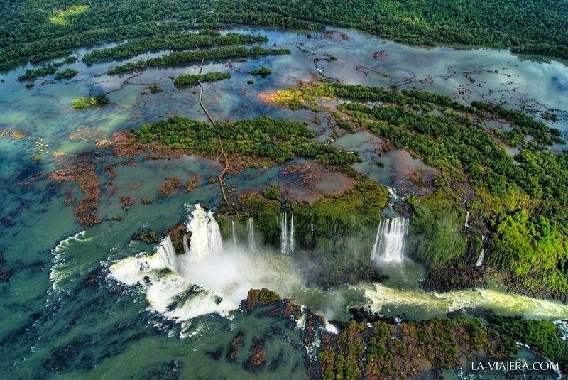 Travel Photo Roulette Iguazu Falls Brazil - La Viajera