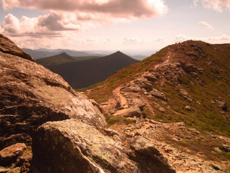 Travel Photo Roulette Franconia Ridge in New Hampshire's White Mountains USA - The Time-Crunched Traveler