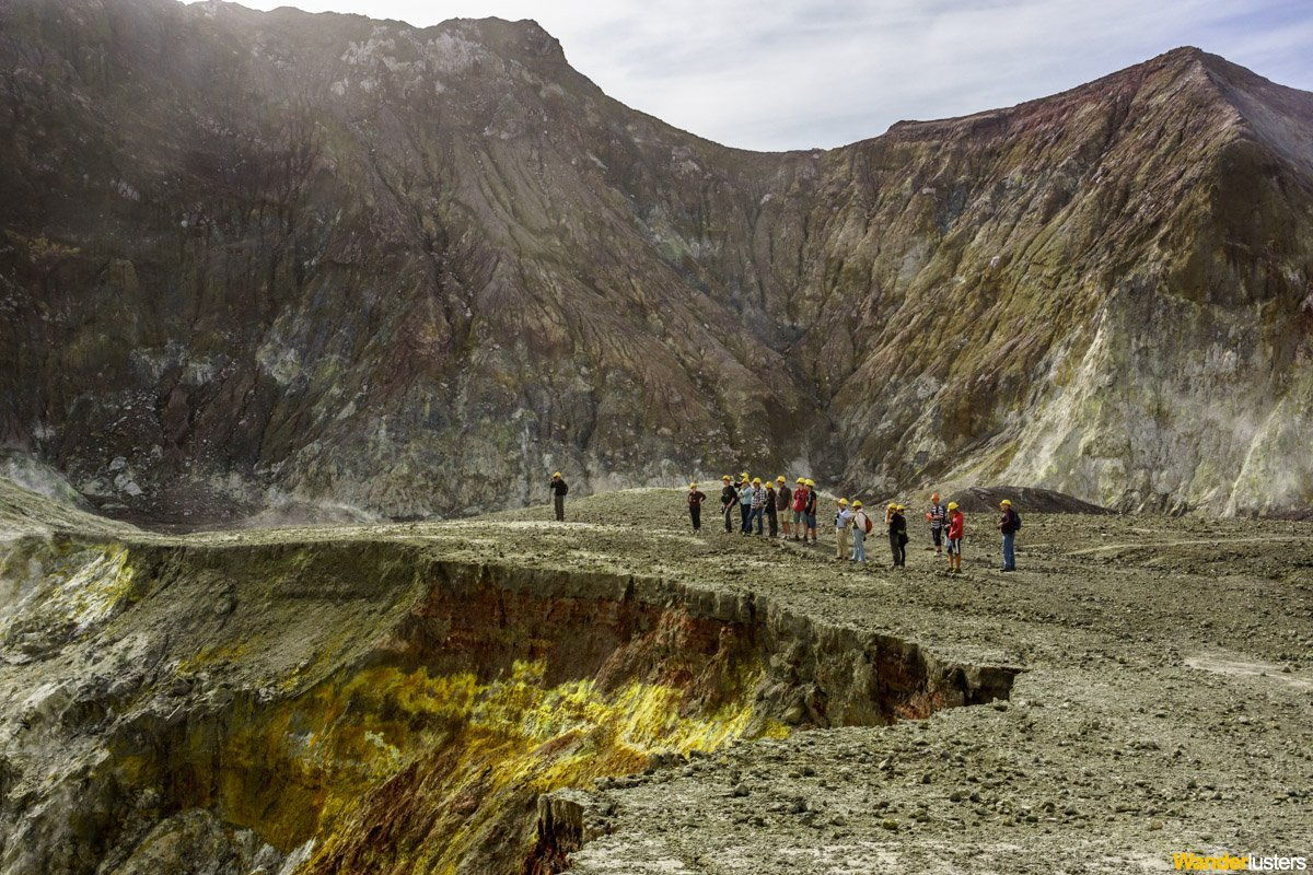 Hiking Across An Active Volcano