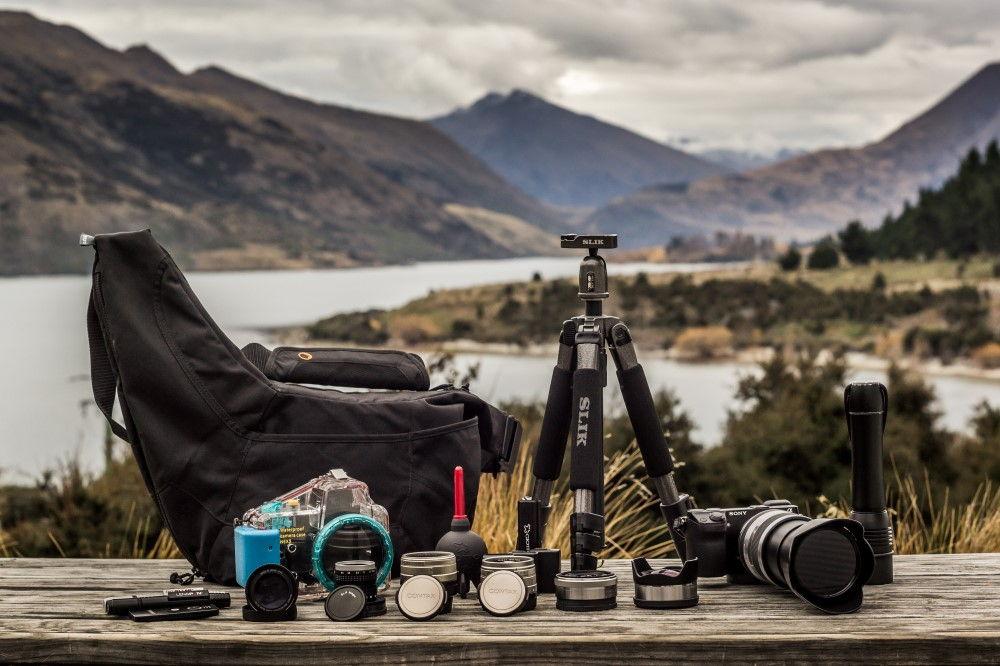 Travel Blogging Camera Kit