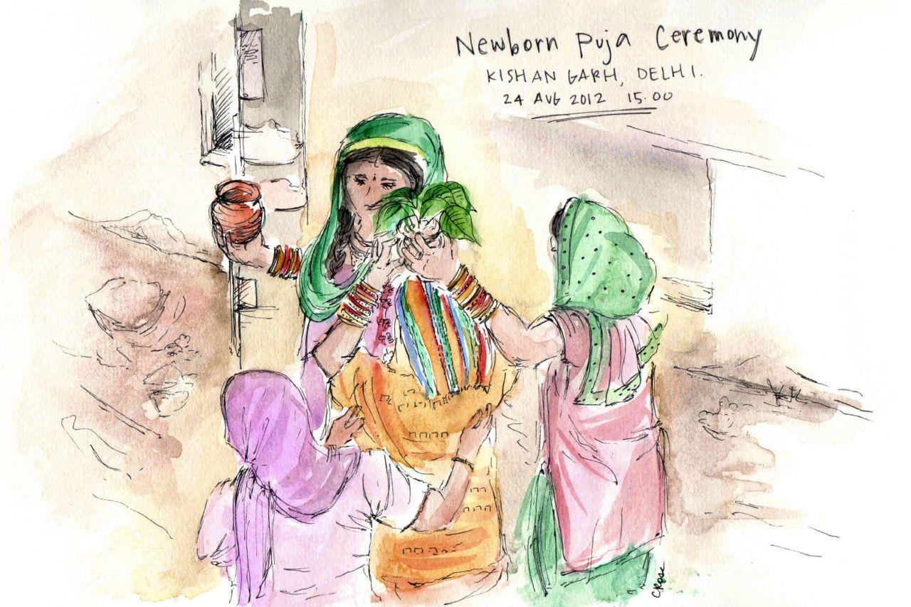 Sketching The Subcontinent sketch_delhi2