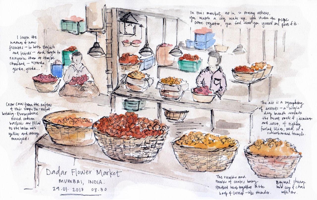 Sketching The Subcontinent sketch_mumbai