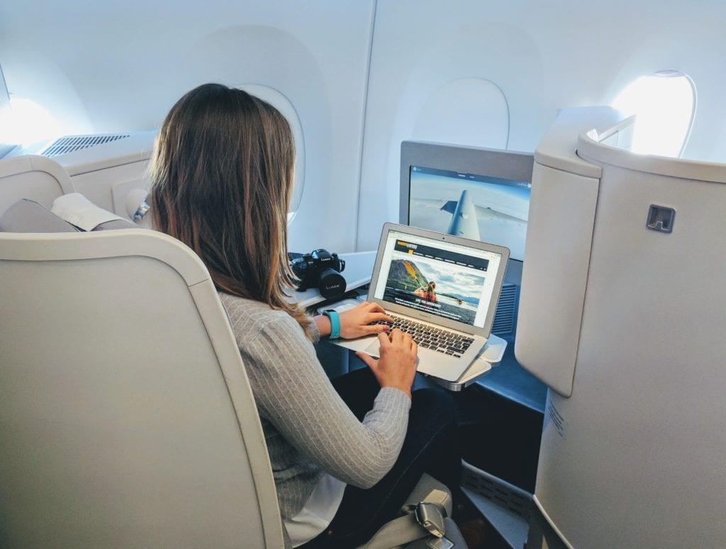 Business Class with Finnair