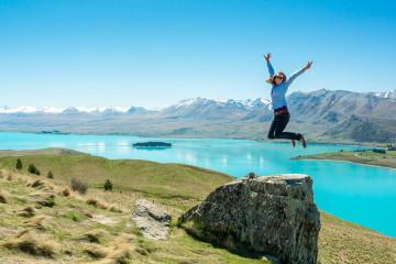 charli-jumping-lake-tekapo