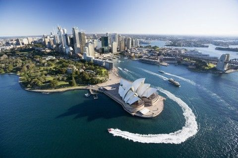 best job in the world Sydney City and the Opera House