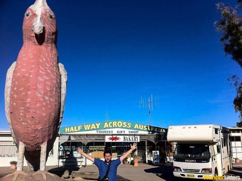 Australi's Big Things Galah Wanderlusters
