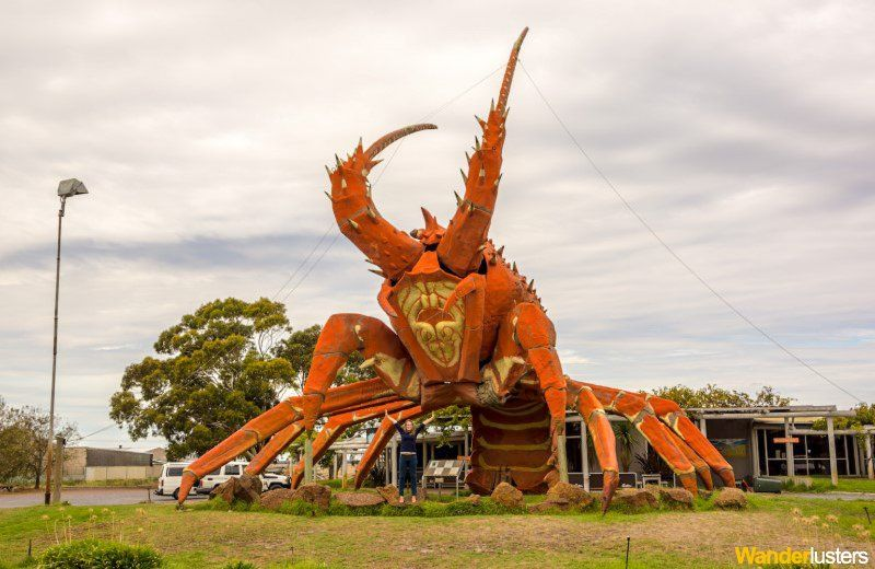 Australia's Big Things Lobster Kingston SE Wanderlusters