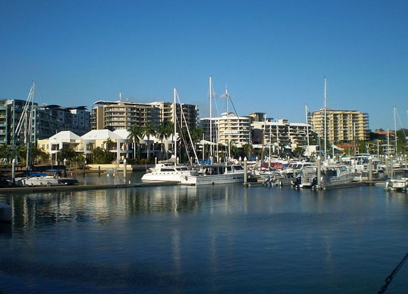 sailing-across-the-top-of-australia-Cullen-Bay-Marina-Darwin