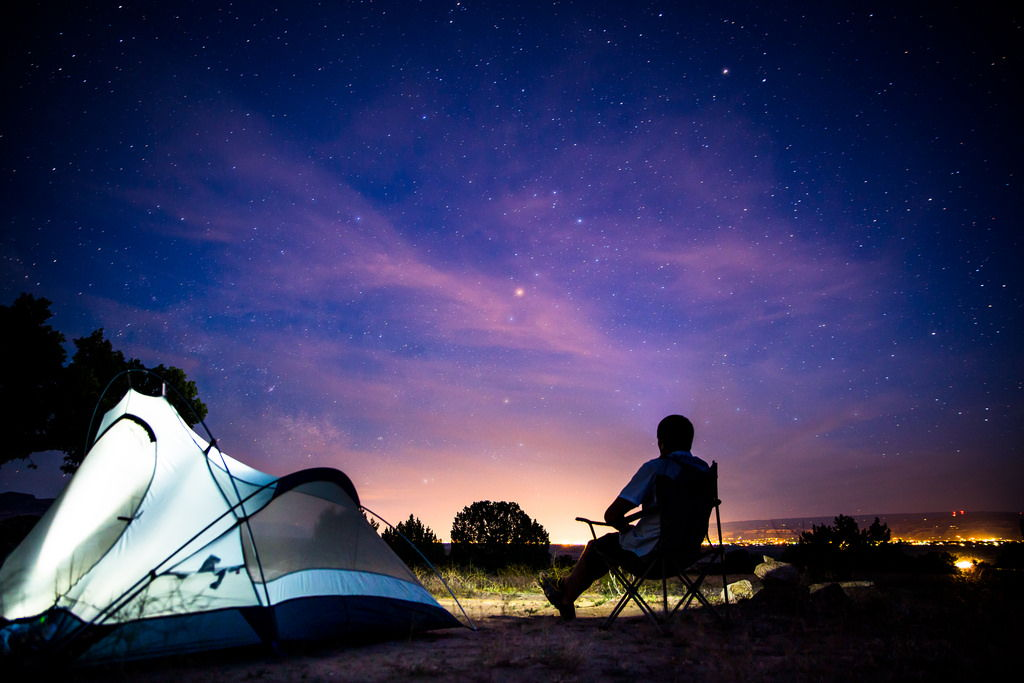 Wilderness camping by Zach Dischner via photopin cc