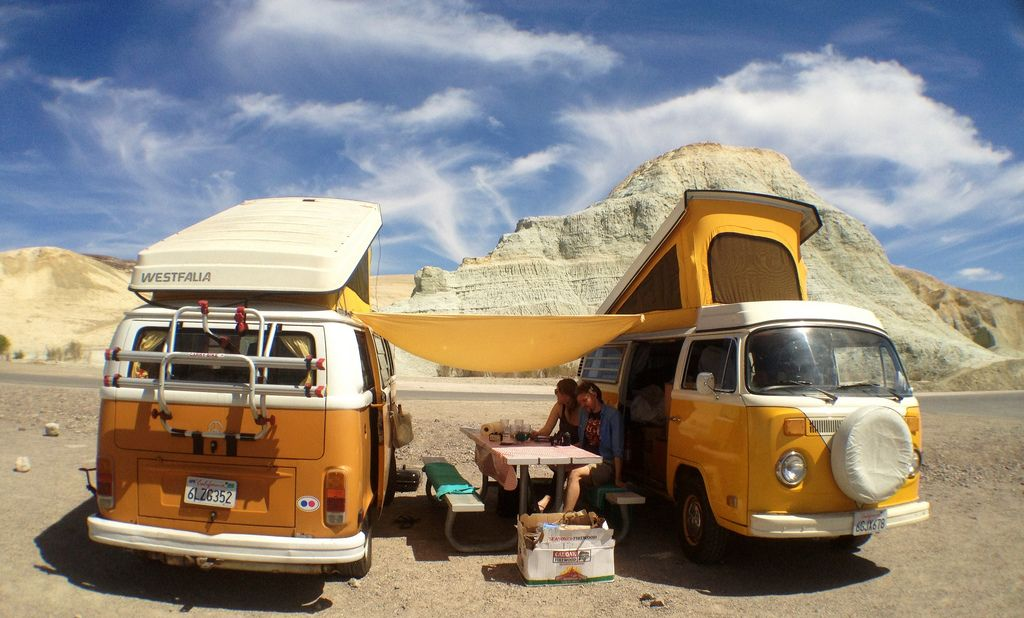 Combi camping by spieri_sf via photopin cc