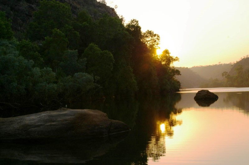 Rainbow Serpent of Katherine Gorge
