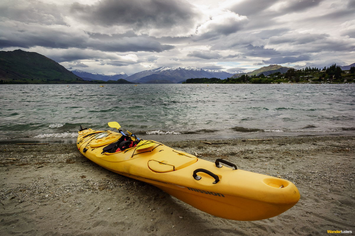 glacial water escape in wanaka