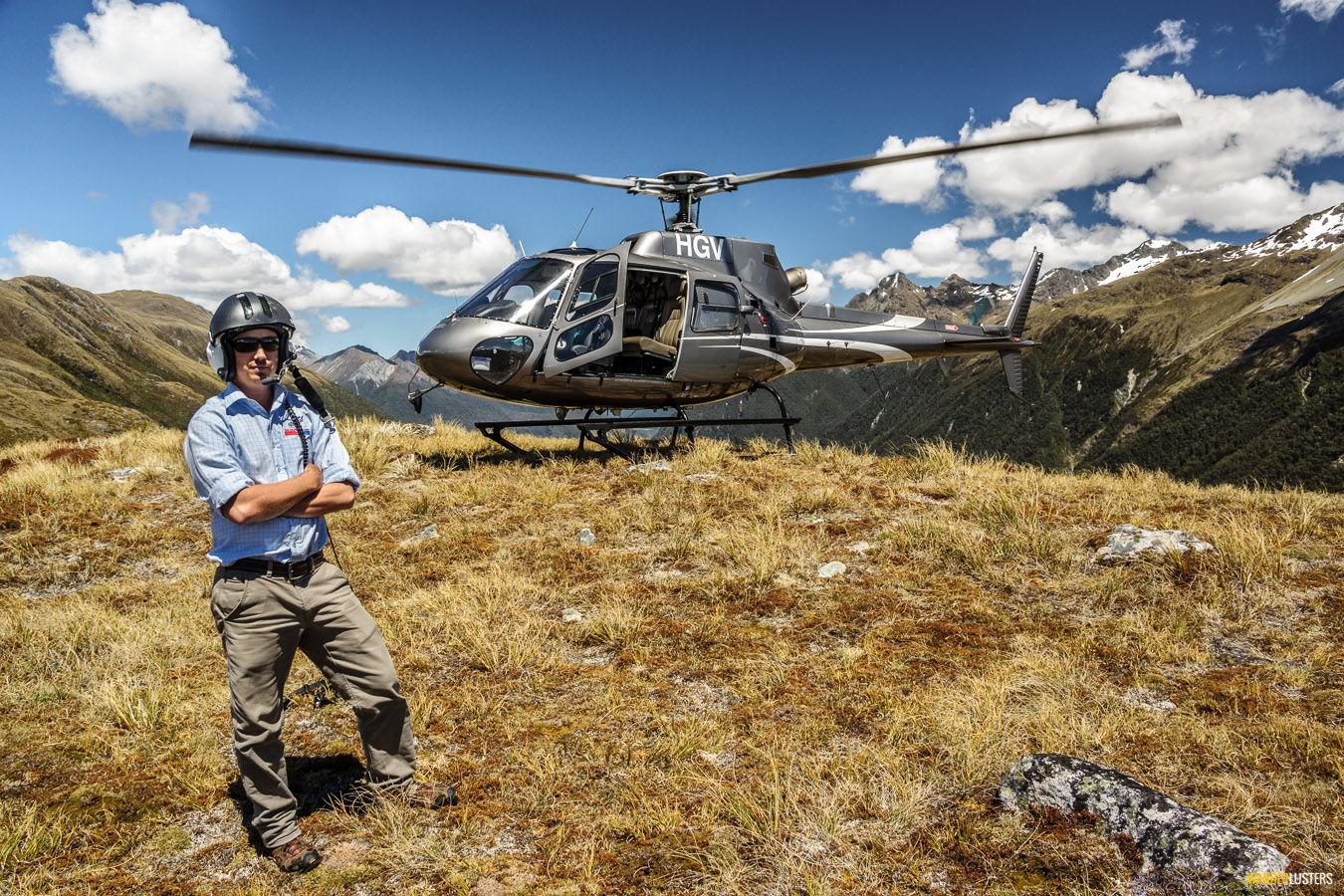 alpine escape helicopter-line-queenstown-divide-pilot