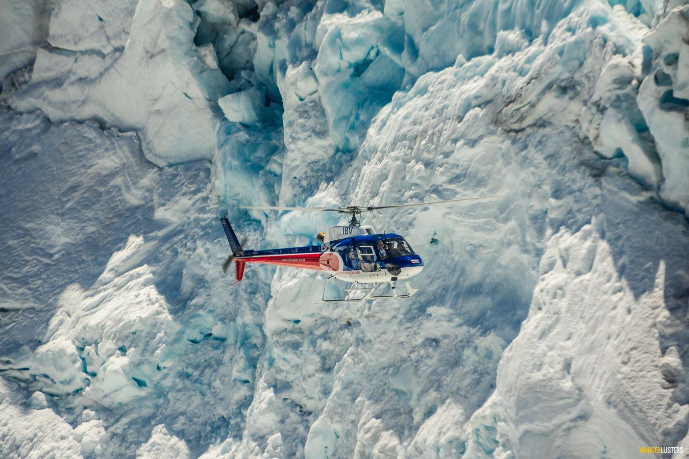 alpine escape helicopter-line-queenstown-glacier