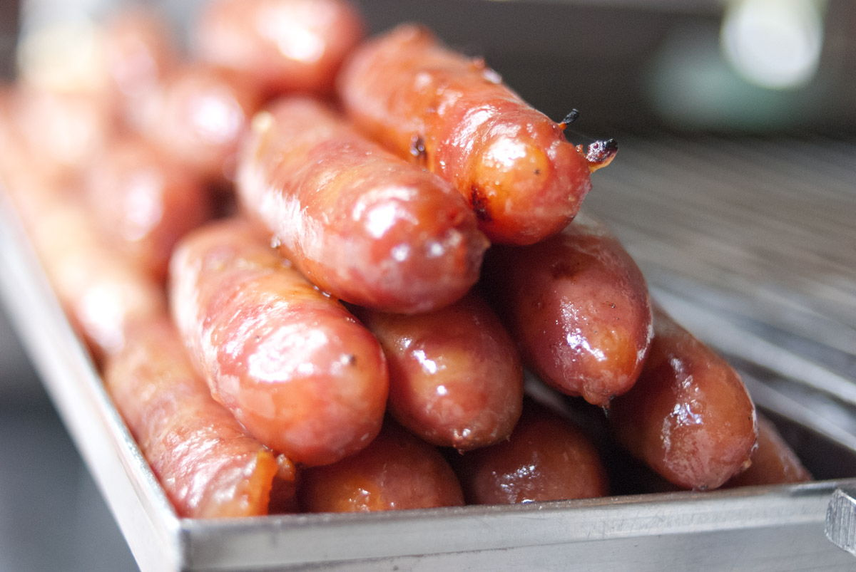 Expat Insights From Taiwan Sweet pork sausages
