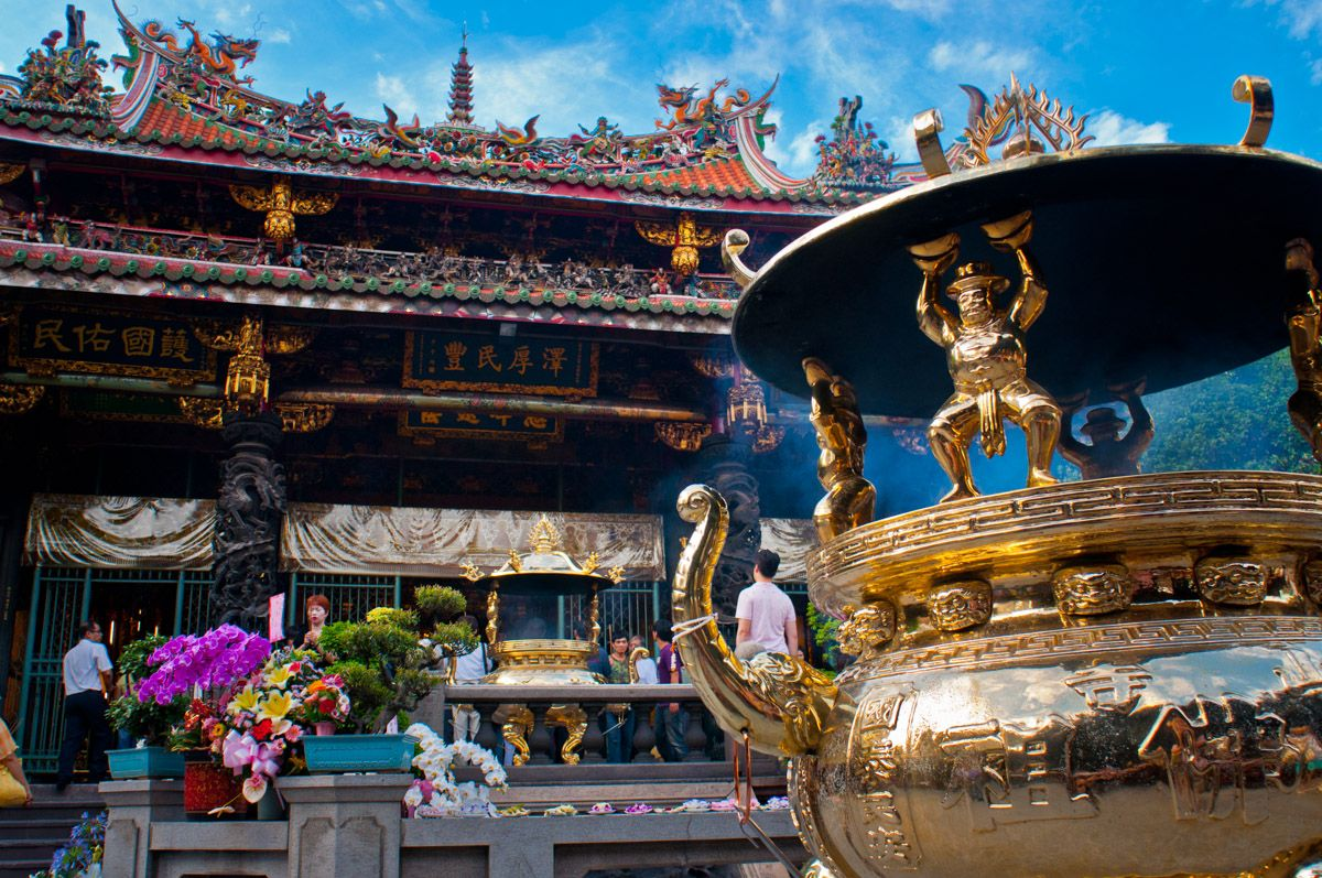 Expat Insights From Taiwan Longshan Temple Taipei
