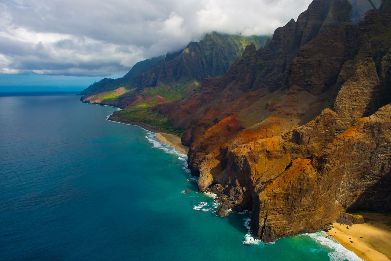 kauai's na pali coast inspires adventure