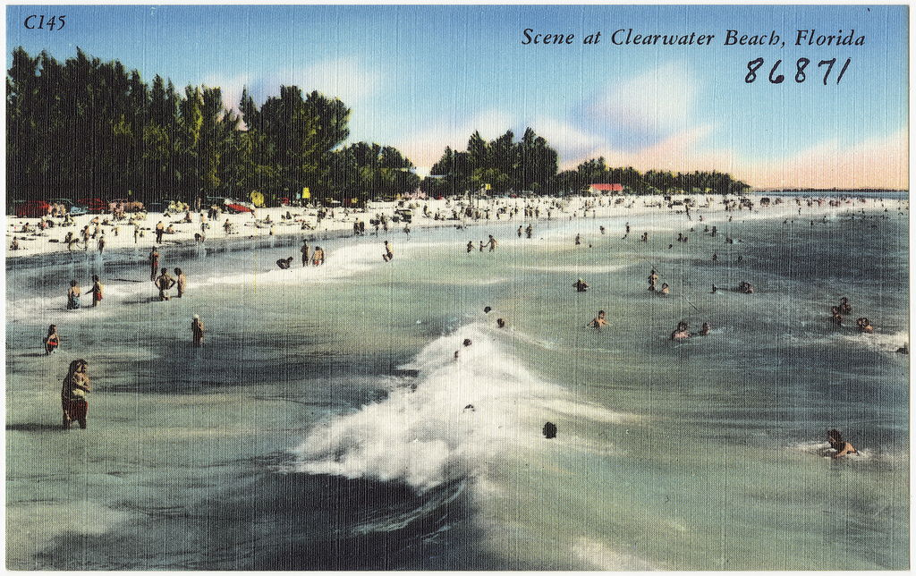 clearwater-beach-scene-postcard Clearwater Beach Travel Tips