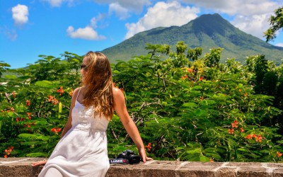 In Front of Mount Nevis, St. Kitts and Nevis