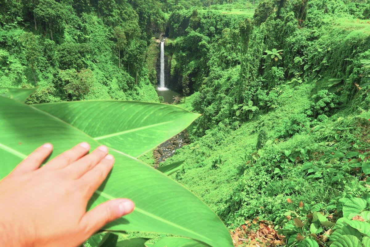 Waterfall, Upolu Island - Samoa X DAYS IN Y