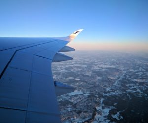 Flying high over Helsinki