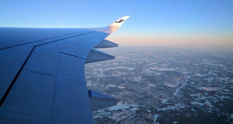 Flying high over Helsinki