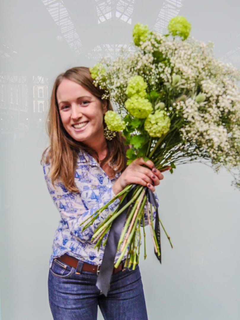 Floral Masterclass at Old Spitalfields Market