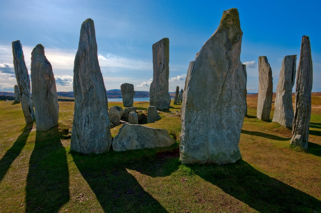 callanish neolithic stone site