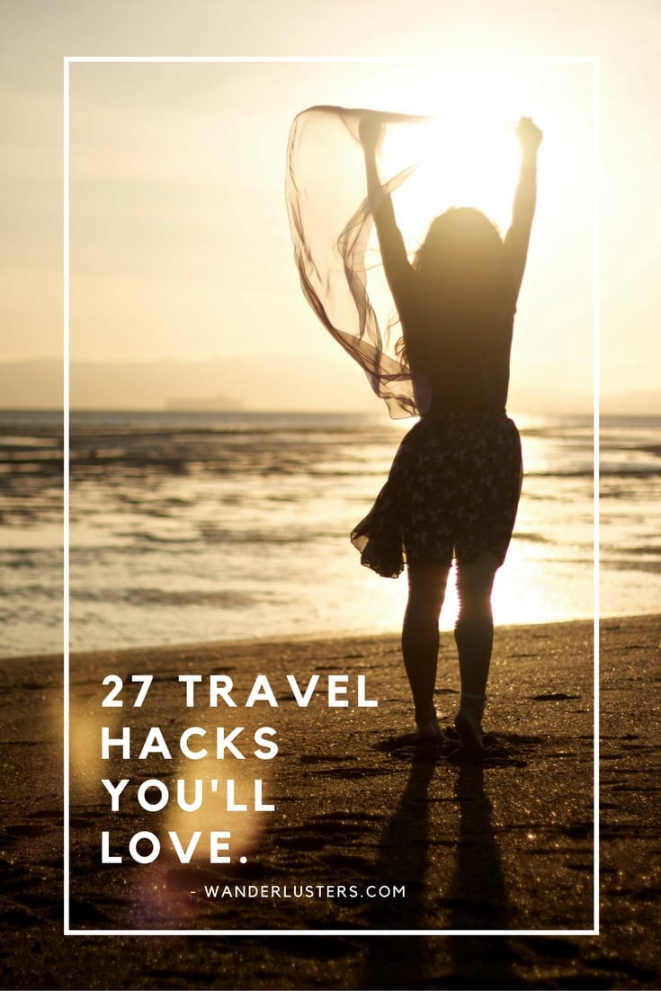 27 travel hacks