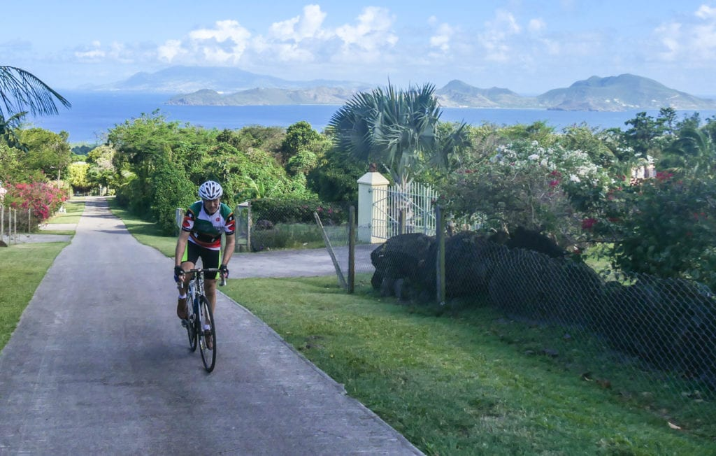 cycle on nevis