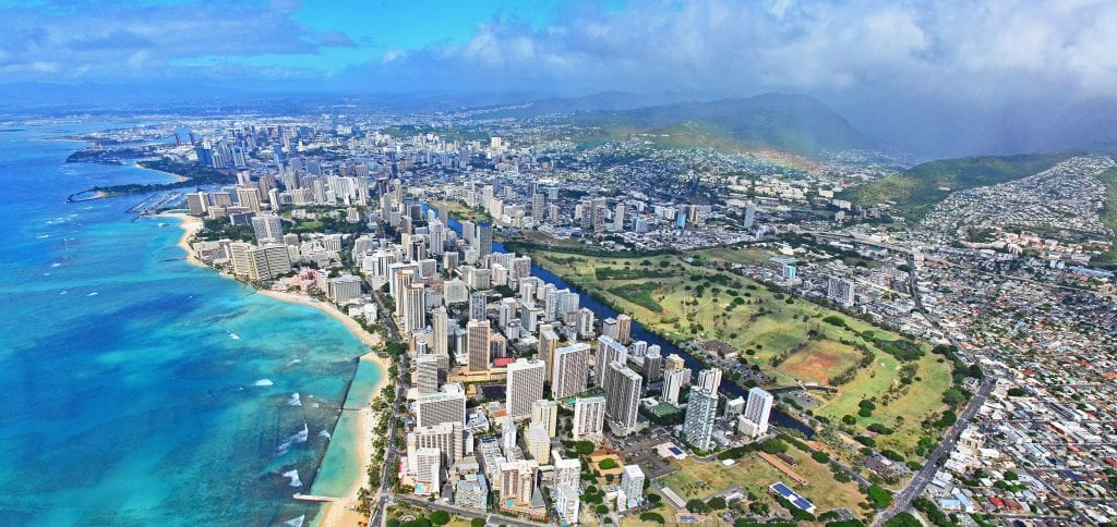 honolulu from above best baseball cities in America