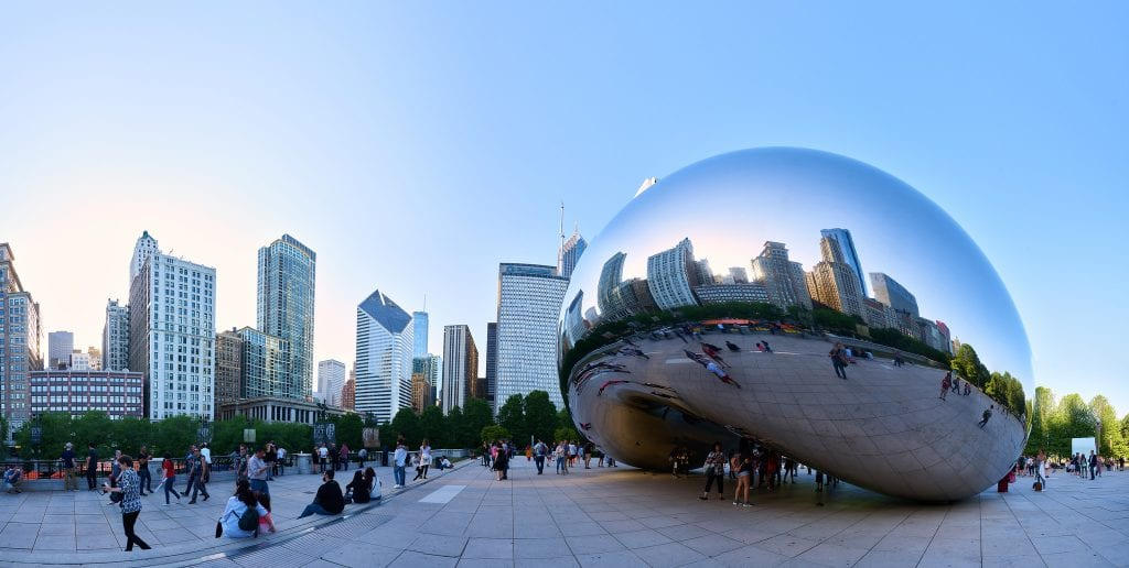 Cloud Gate Anish Kapoor Chicago Best Baseball Cities in America