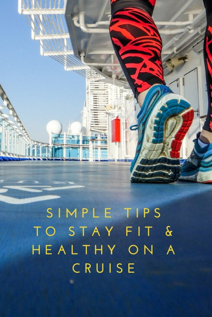 stay fit and healthy on a princess cruise
